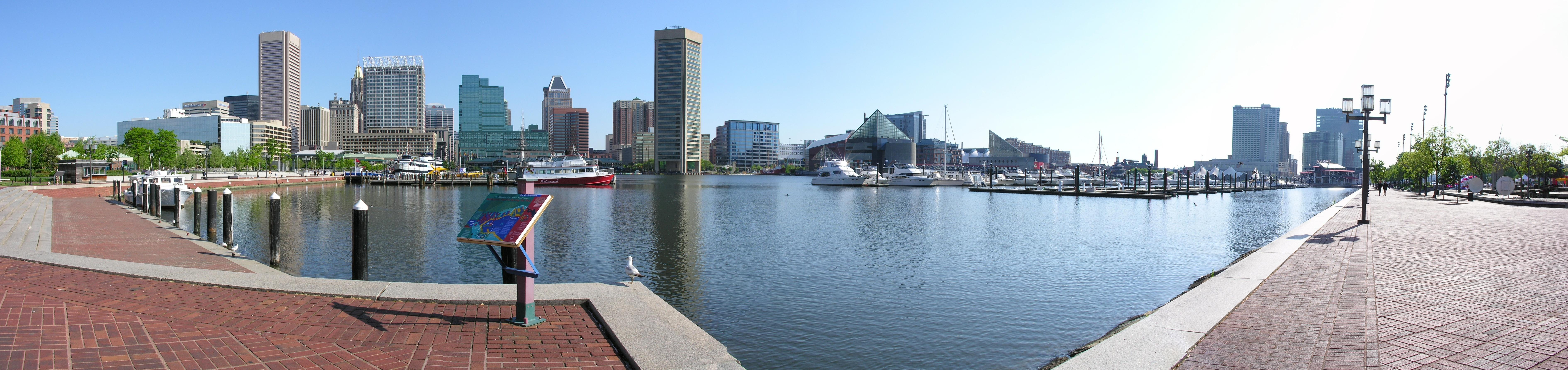 Inner Harbor Panorama